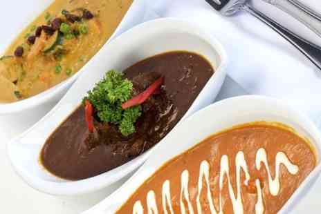 Rahuls Restaurantt - Indian Main With Sides For Two - Save 59%