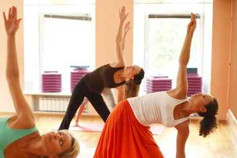 Yogafurie Hot Yoga - Eight Hot Yoga Classes - Save 65%