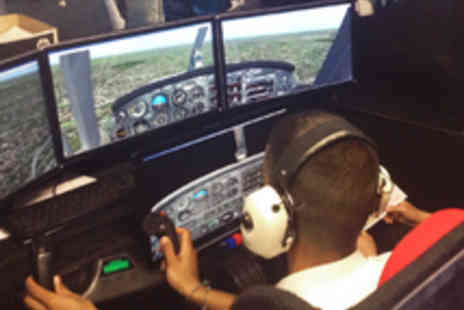 Fly By Light - Flight Simulator Experience for One or Two - Save 40%