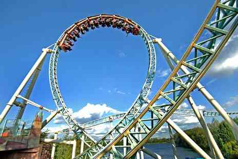 Thorpe Park - One night stay for 4 people including breakfast - Save 38%