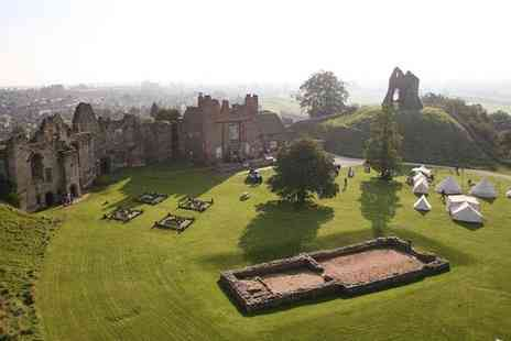 Tutbury Castle - Entry for a family of 4 to a Victorian themed funfair day out  - Save 44%