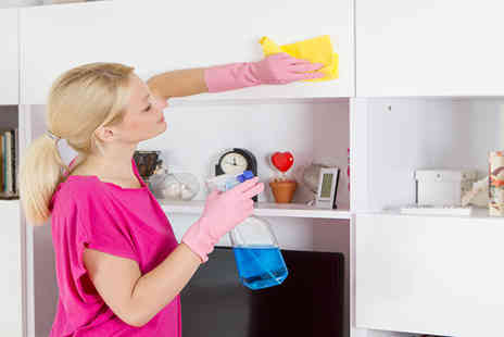 Cobwebs The Cleaners - Three hour house cleaning service on two - Save 50%