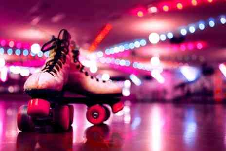 Rolltate Roller Disco - Roller Disco With Skate Hire For Two - Save 55%