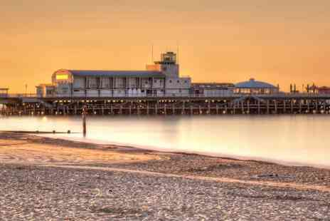 Britannia Royal Bath Hotel - Bournemouth Break for two  B&B Dinner & Spa Treatment  - Save 35%