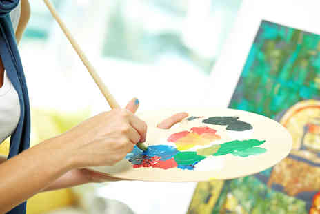Deana Kim Page - Three Hour Art Workshop for One - Save 72%