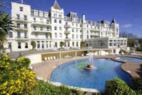Richardson Hotel Group - Torquay Stay with Three Course Dinner and Afternoon Tea - Save 42%