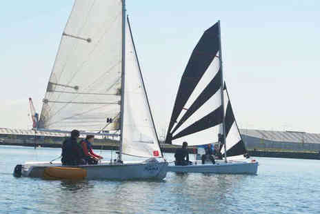 Oxwich Watersports - Hour Long Sailing Lesson Followed by Hour Long Hire of Sailing Dingy - Save 54%