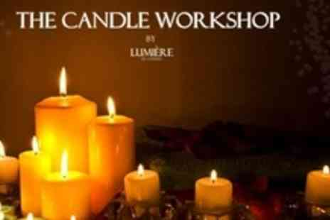 The Candle Workshop - Full Day Candle Making Class - Save 67%