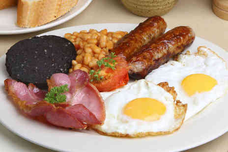 Sallys Kitchen On The Green - All Day Full English Breakfast or Choice from the Lunch Menu for Two - Save 50%