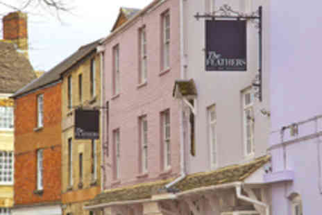 The Feathers Hotel - AA Rosette Winning Two Course Lunch for Two  - Save 50%