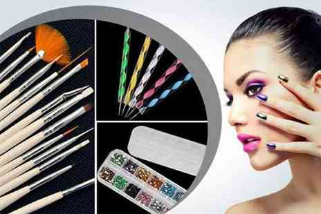 WEKSI - Nail art kit  - Save 65%