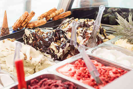 Milano - Two scoops of authentic Italian ice cream and a drink - Save 46%