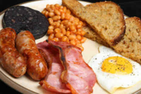 Hole In The Wall Cafe - Breakfast or lunch with a hot drink for two - Save 50%