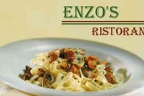 Enzos Ristorante - Two Course Italian Meal For Two - Save 67%