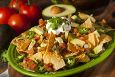 The Street - Nachos to share Plus 2 cocktails - Save 53%