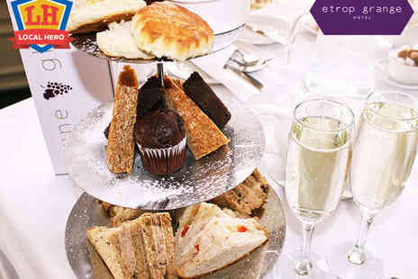 Etrop Grange Hotel - Traditional Afternoon Tea for Two - Save 35%