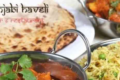 Punjabi Haveli - Two Courses of Punjabi Cuisine For Two With Sides - Save 61%