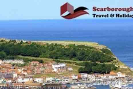 Scarborough Travel & Holiday - Two Night Stay For Two With Breakfast and Dinner on One Night - Save 55%