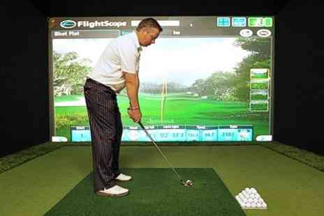 Steve Vinnicombe PGA Golf - Two Hour Golf Simulator Experience - Save 69%