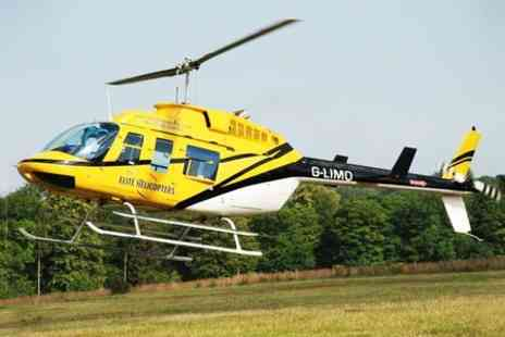 Elite Helicopters - 17 mile helicopter buzz flight for one - Save 52%