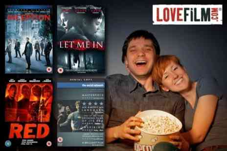 LOVEFiLM - Three Months of Unlimited DVD and Blu-ray Rental - Save 880%