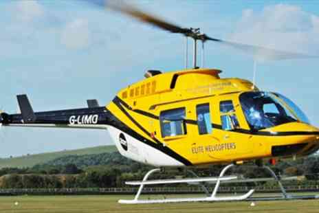 Elite Helicopters - 30 Minute Helicopter Flight including Historic Landmarks - Save 33%