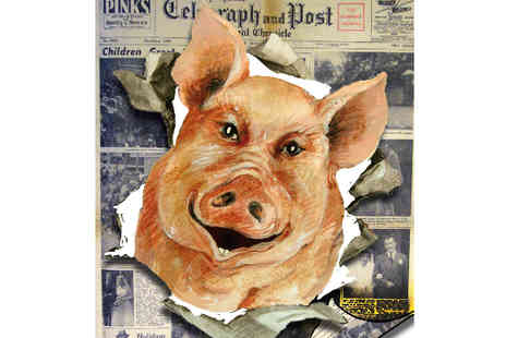 The News Promotions - The Smile on The Face of The Pig  - Save 50%