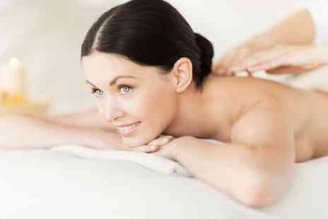 Sparkle Treatments -  45 minute body wrap and mini facial plus a 20 minute hot stone massage - Save 78%