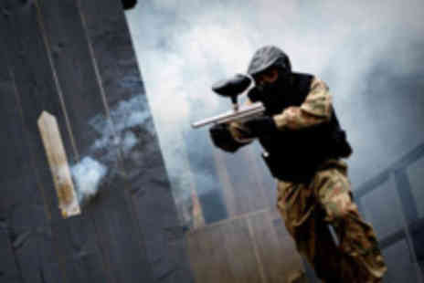 Horizon Paintball -  50 paintballs & light lunch for two - Save 82%