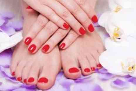 The Little Beauty Company - Shellac Manicure OR a Shellac Pedicure - Save 43%