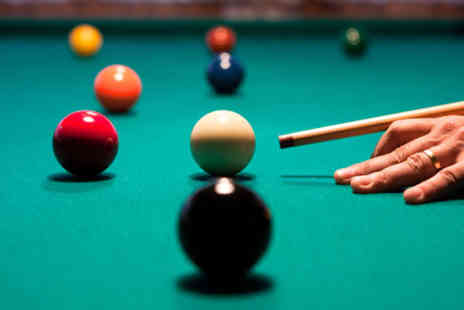 Perfection Snooker & Sports Leisure - Two hours of snooker, burger & chips and annual membership for two people - Save 80%