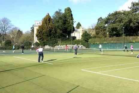 Bath Tennis Club - Outdoor Tennis For Two or Four  - Save 45%