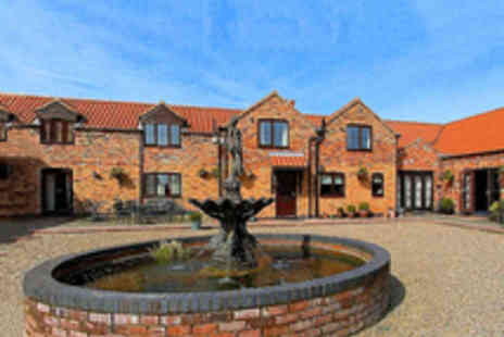 Norton Lodge - Two Night Picturesque Lincolnshire Stay for Two - Save 47%