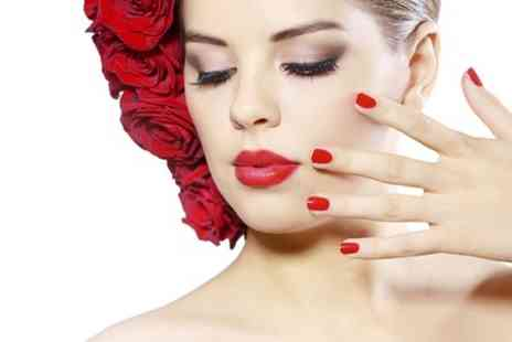 Flawless Luxe - Shellac Manicure With Pedicure and Soak Off Options - Save 66%