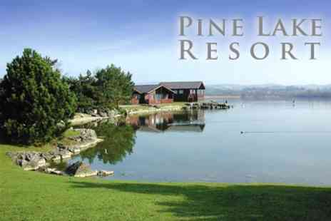 Pine Lake Resort - Two Night Getaway on the Edge of the Lake District for Two - Save 60%