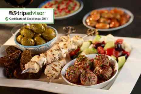 Mangal Turkish Restaurant - Turkish meze & chicken platter for 2 - Save 63%