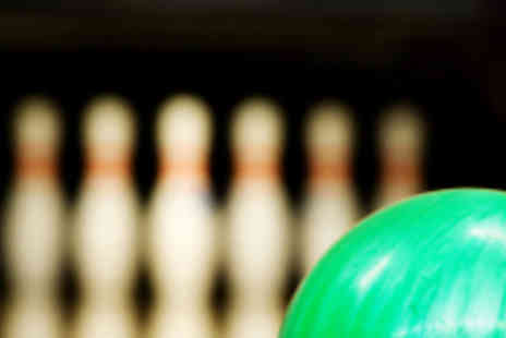 Hollywood Bowl - Game of Ten Pin Bowling for Two People - Save 68%