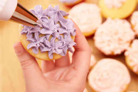 Cakes and Craft - Cake Decoration Workshop Tiffany Collection The Blue Collection or Animal Cupcake Decorating Class - Save 51%