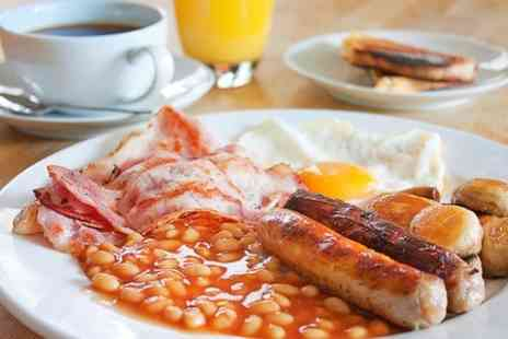 Sals Easy diner - All Day Breakfast For Two - Save 38%