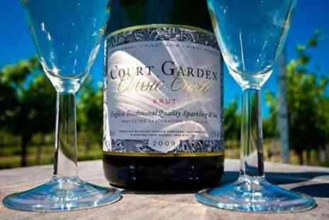 Court Garden - English Sparkling Wine Tour With Tutored Tasting - Save 50%