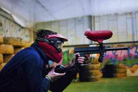 Urban Paintball Edinburgh - Paintball Play For Four - Save 94%
