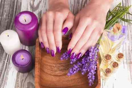 Elegant Hair and Beauty - Gel Manicure or Pedicure - Save 60%