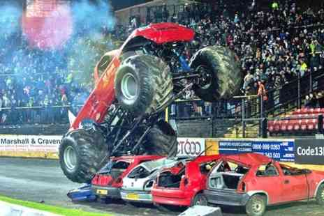 The Extreme Stunt Show - The Extreme Torque Show Ticket With Souvenir Brochure  - Save 50%