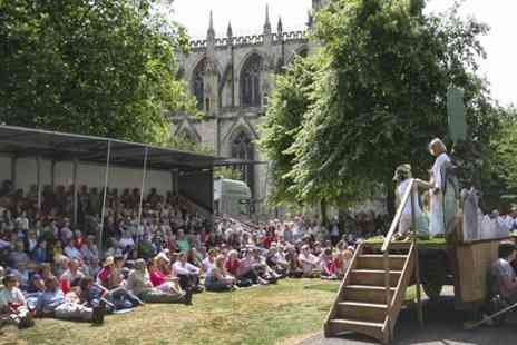 York Mystery Plays - Two Open Air Theatre Tickets - Save 50%