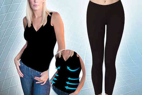 NiftySpot - Fleximesh Vest Top or Body Contour Leggings - Save 75%