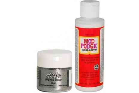 Deal Nation Exclusive - Mod Podge Glitter Starter Kit  - Save 55%
