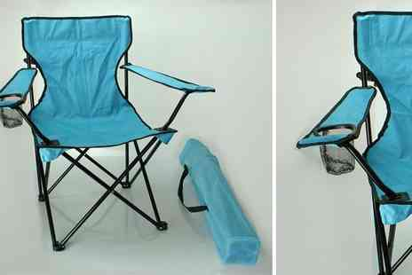 Click For Games  - Folding Camping Chair - Save 50%