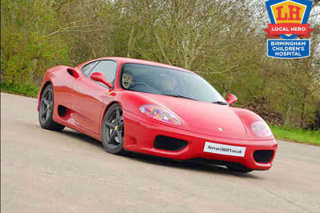 Ferrari 360 F1 - Junior Ferrari Driving Experience - Save 62%