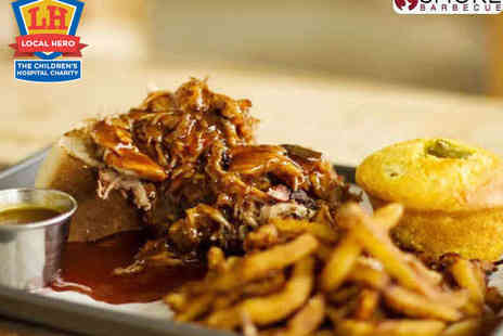 Smokeys - Lunchtime SMOKE Main Course with Fries for Two - Save 50%