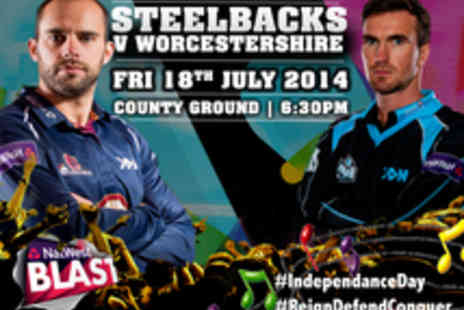 Northants Cricket - Tickets to Northants Steelbacks v Worcestershire Rapids Twenty20 Cricket Match - Save 38%